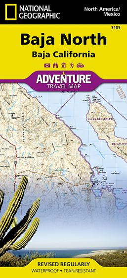 National Geographic - Adventure Map - Baja California North