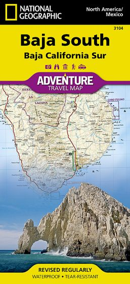 National Geographic - Adventure Map - Baja California South