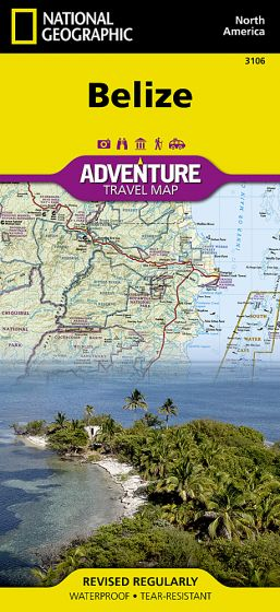 National Geographic - Adventure Map - Belize