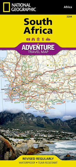 National Geographic - Adventure Map - South Africa
