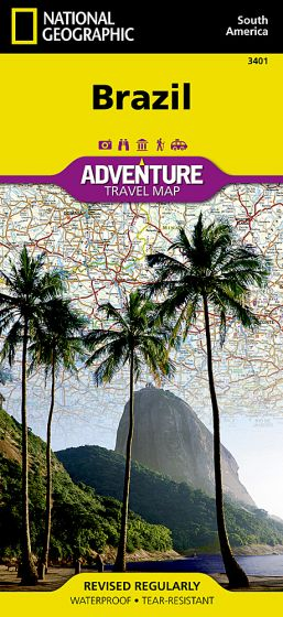 National Geographic - Adventure Map - Brazil