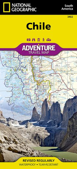 National Geographic - Adventure Map - Chile