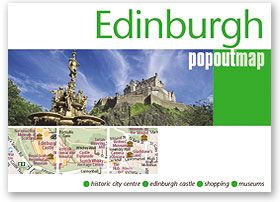 Popout Maps - Edinburgh