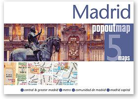 Popout Maps - Madrid