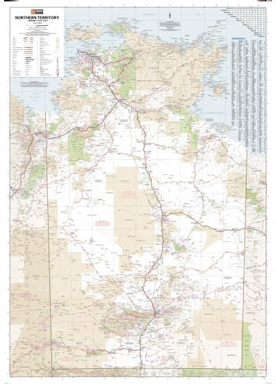 Northern Territory Supermap Map