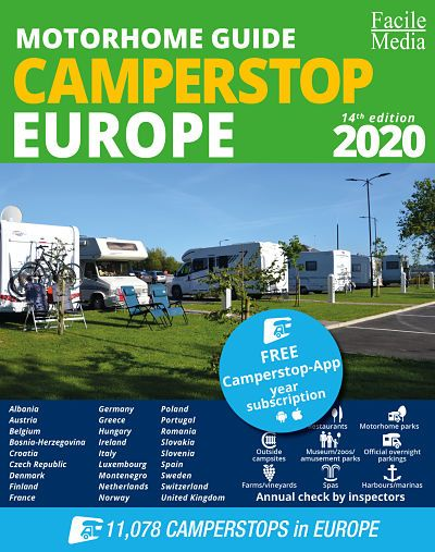 The Motor Home Guide - Camperstop Europe 2020