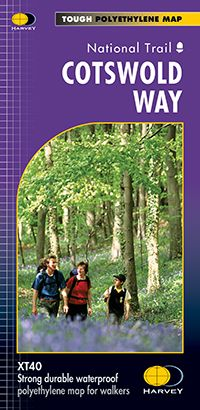 Harvey National Trail Map - Cotswold Way