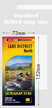Harvey Ultra Map - Lake District North XT40