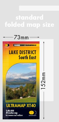 Harvey Ultra Map - Lake District South East XT40