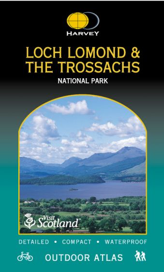 Harvey Outdoor Atlas - Loch Lomond & The Trossachs