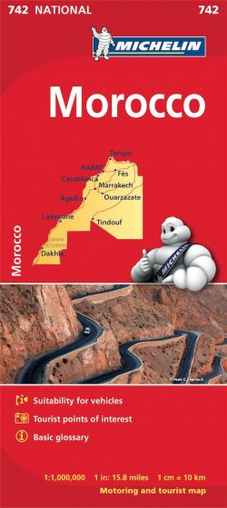 Michelin National Map - 742-Morocco