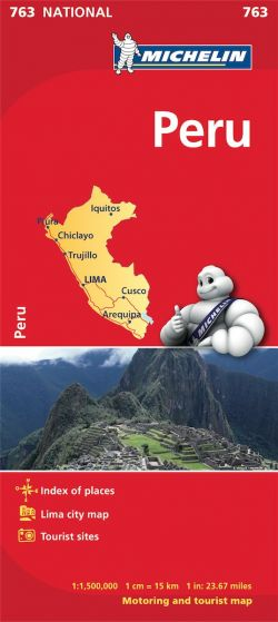 Michelin National Map - 763-Peru