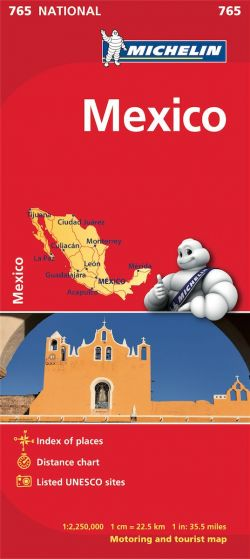 Michelin National Map - 765-Mexico
