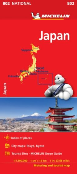 Michelin National Map - 802 - Japan