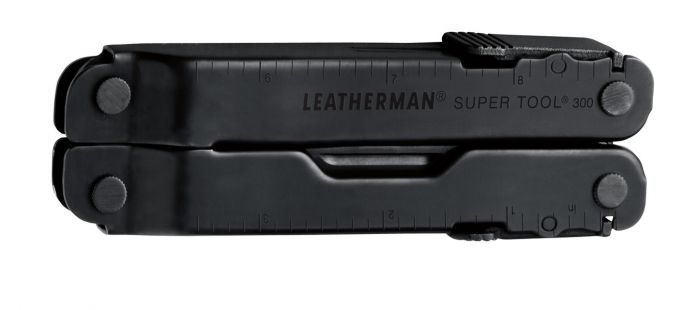 Leatherman Supertool - ST300 - Black Oxide with Molle Pouch