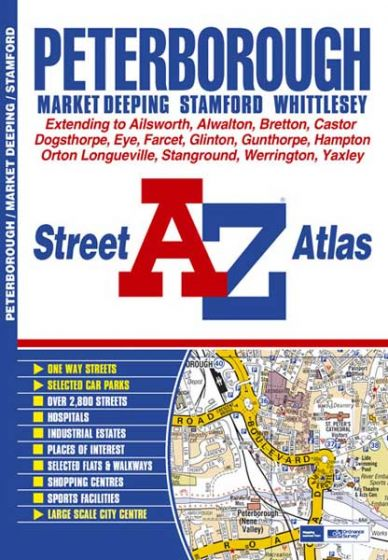 A-Z Street Atlas - Peterborough