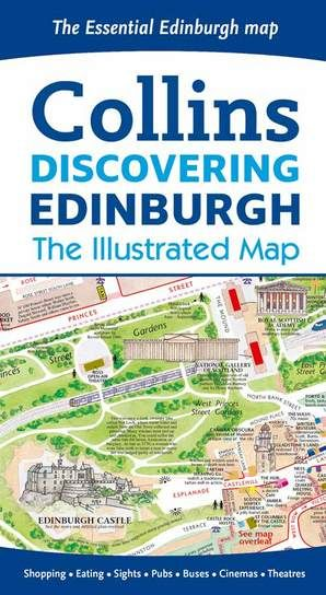 Collins - Discovering Edinburgh Illustrated Map