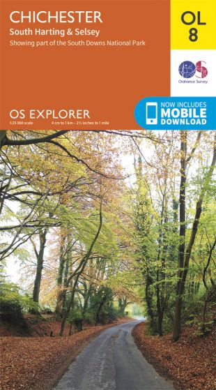 OS Explorer Leisure - OL8 - Chichester, South Harting