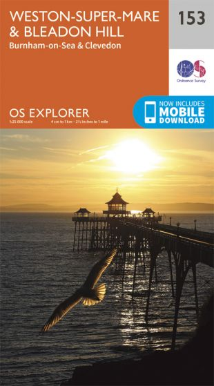 OS Explorer - 153 - Weston-super-Mare & Bleadon Hill