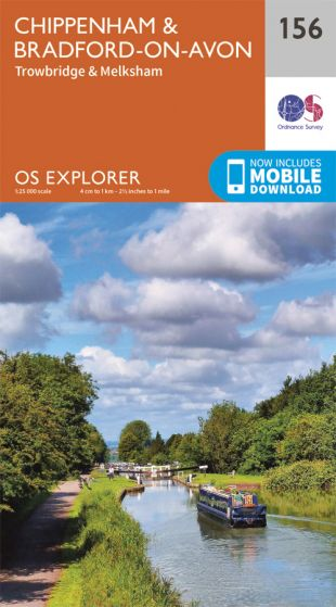 OS Explorer - 156 - Chippenham & Bradford-on-Avon