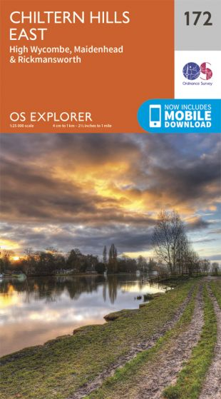 OS Explorer - 172 - Chiltern Hills East