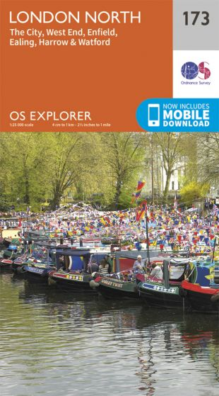 OS Explorer - 173 - London North