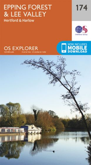 OS Explorer - 174 - Epping Forest & Lee Valley