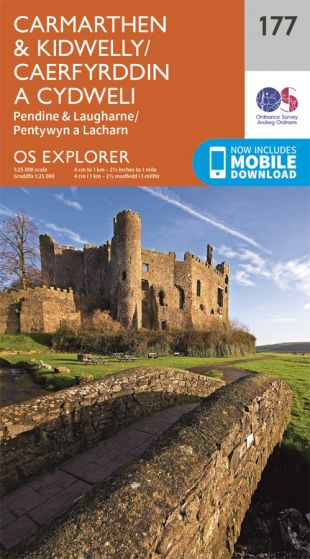 OS Explorer - 177 - Carmarthen & Kidwelly