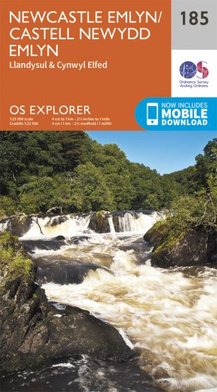 OS Explorer - 185 - Newcastle Emlyn