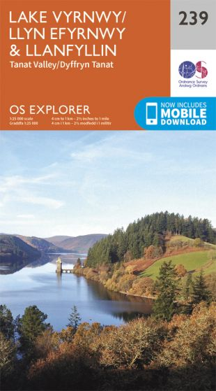 OS Explorer - 239 - Lake Vyrnwy & Llanfyllin