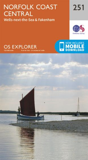 OS Explorer - 251 - Norfolk Coast Central