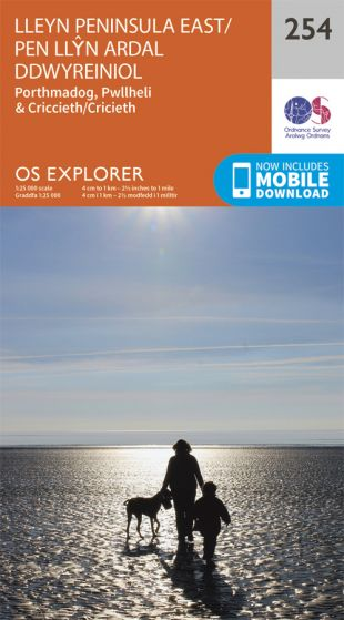 OS Explorer - 254 - Lleyn Peninsula East