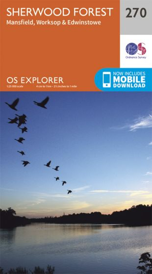 OS Explorer - 270 - Sherwood Forest