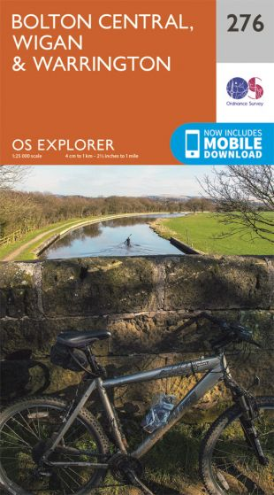 OS Explorer - 276 - Bolton, Wigan & Warrington