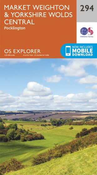 OS Explorer - 294 - Market Weighton & Yorkshire Wolds Central