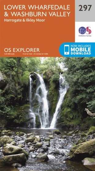 OS Explorer - 297 - Lower Wharfedale & Washburn Valley