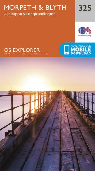 OS Explorer - 325 - Morpeth & Blyth
