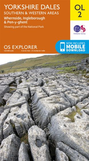 OS Explorer Leisure - OL2 - Yorkshire Dales - Southern & Western