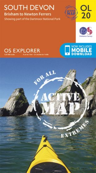 OS Explorer Active - 20 - South Devon