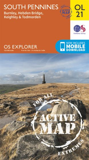 OS Explorer Active - 21 - South Pennines