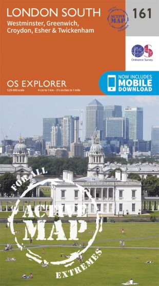 OS Explorer Active - 161 - London South