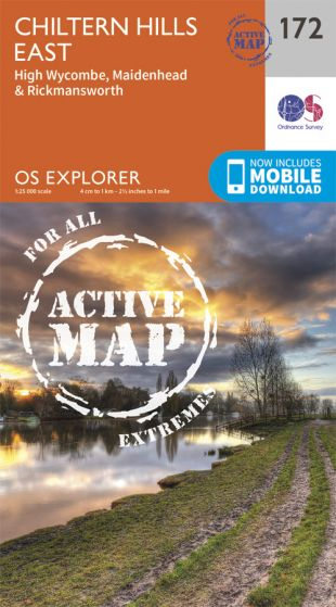 OS Explorer Active - 172 - Chiltern Hills East