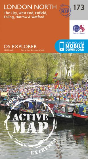 OS Explorer Active - 173 - London North