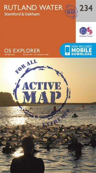 OS Explorer Active - 234 - Rutland Water