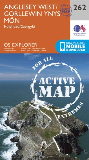 OS Explorer Active - 262 - Anglesey West