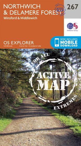 OS Explorer Active - 267 - Northwich & Delamere Forest