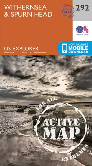 OS Explorer Active - 292 - Withernsea & Spurn Head