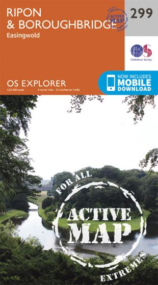 OS Explorer Active - 299 - Ripon & Boroughbridge