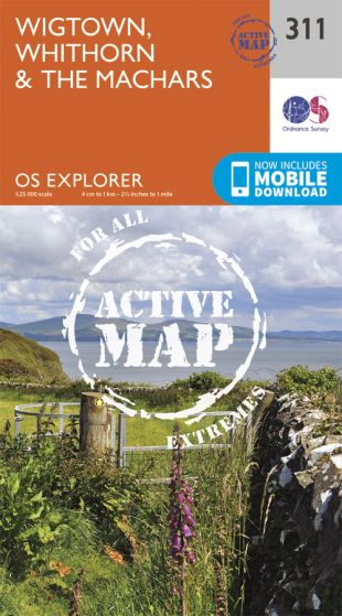 OS Explorer Active - 311 - Wigtown, Whithorn & The Machars