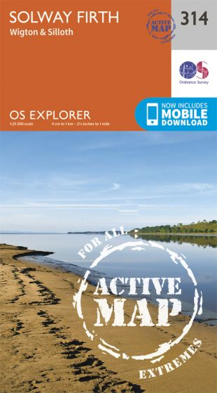 OS Explorer Active - 314 - Solway Firth